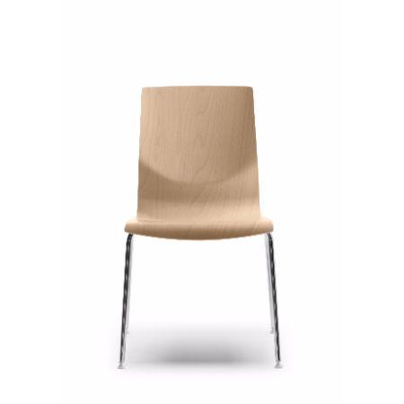 Silla fija o giratoria forma 5 curvae muebles de oficina for Muebles de oficina forma 5