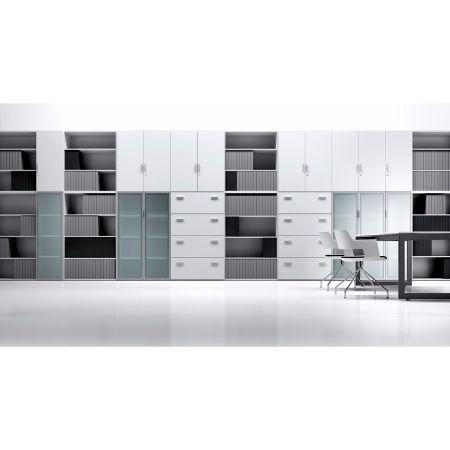 Armario modular forma 5 bilaminado muebles de oficina for Muebles de oficina forma 5