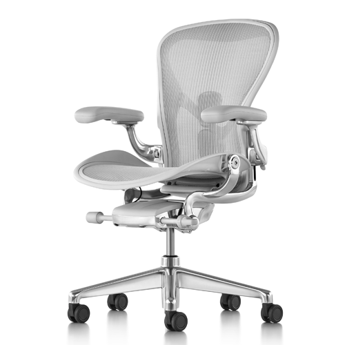 HERMAN MILLER GREY POLISHED