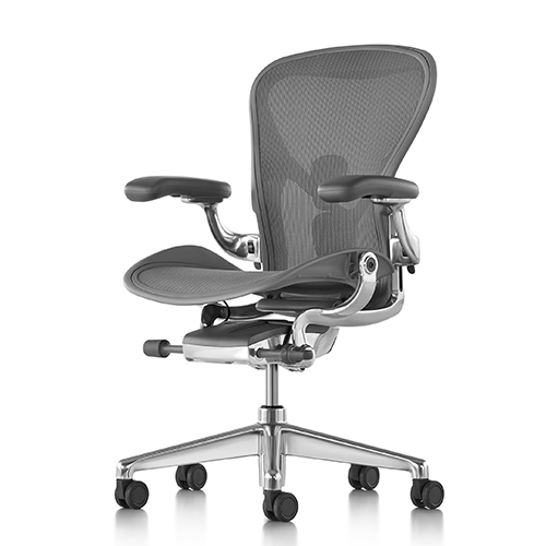 HERMAN MILLER AERON POLISHED