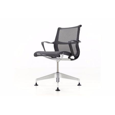 Silla giratoria herman miller setu muebles de oficina for Silla herman miller