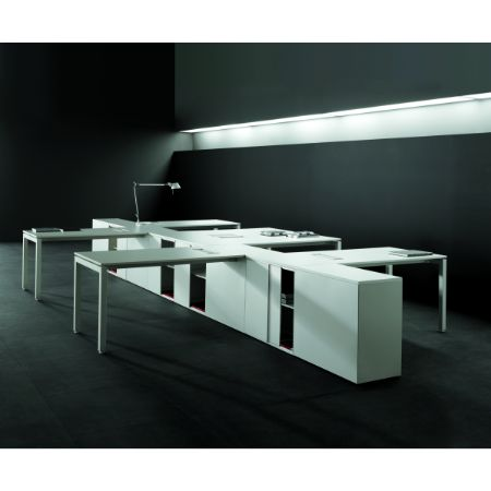 Mesa de sistema forma 5 f25 muebles de oficina mart nez for Muebles de oficina forma 5