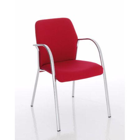 Silla fija forma 5 flavia muebles de oficina mart nez for Muebles de oficina forma 5