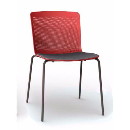 Silla fija forma 5 glove muebles de oficina mart nez for Silla sentis forma 5