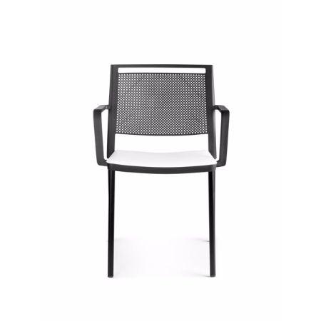 Silla fija forma 5 kool muebles de oficina mart nez for Silla glove forma 5