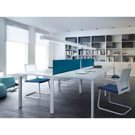 Mesa de sistema logos forma 5 muebles de oficina for Muebles de oficina forma 5