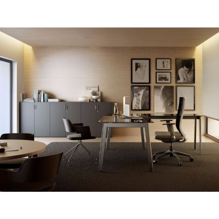 Mesa semidirecci n forma 5 m10 muebles de oficina for Muebles de oficina forma 5