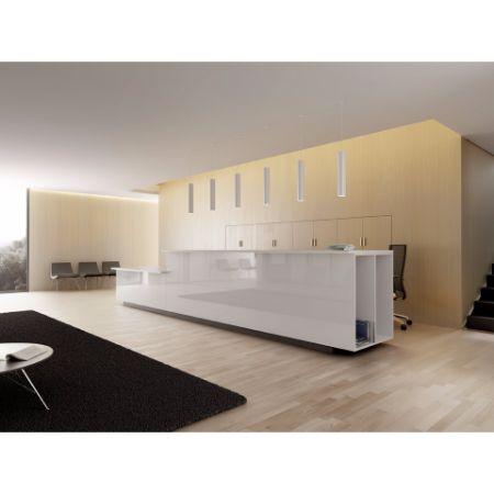 Mostrador recepci n forma 5 m10 muebles de oficina - Mostradores para oficinas ...