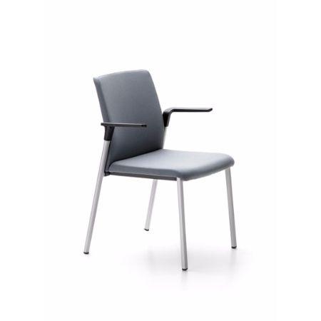 Silla fija forma 5 plural muebles de oficina mart nez for Muebles de oficina forma 5