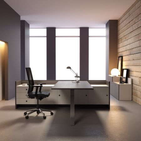 Mesa direcci n forma 5 quorum muebles de oficina for Muebles de oficina forma 5