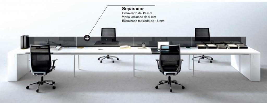 separadores faldones - separateur voiles de fond - screens and modesty panels (Caracteristicas)