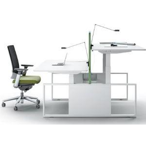 Mesa de altura ajustable forma 5 skala muebles de for Muebles de oficina forma 5