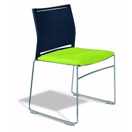 Silla fija luyando system dinamic muebles de oficina for Sillas empresariales