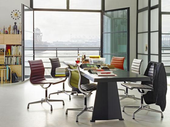 Aluminium Chair EA 101 Trapèze_AD