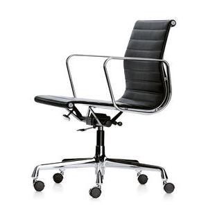 Silla giratoria vitra aluminium chair ea 117 119 muebles for Sillas oficina black friday
