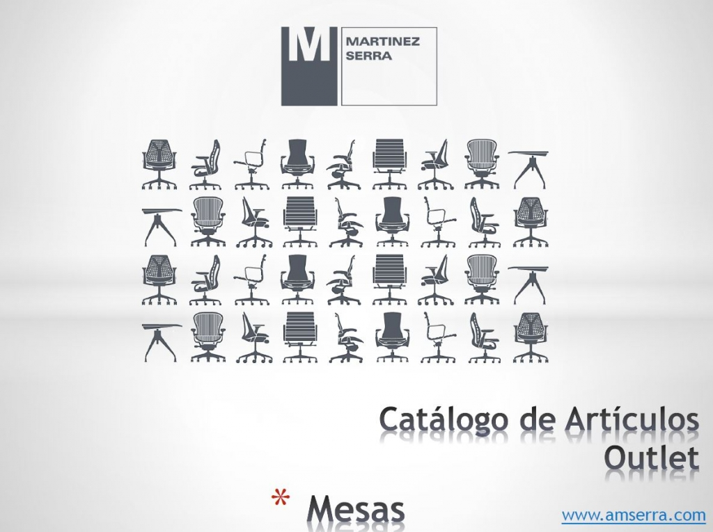 Catalogo Outlet Mesas
