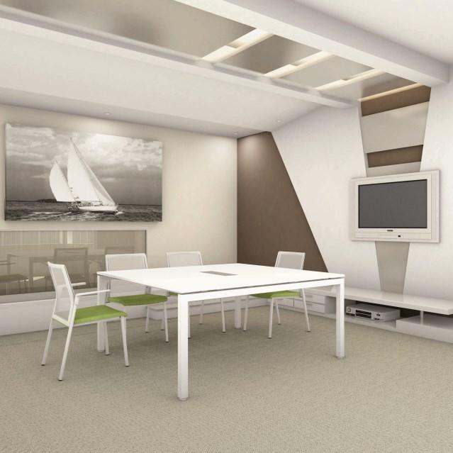 Mesa de reuniones f25 forma 5 muebles de oficina for Muebles de oficina forma 5
