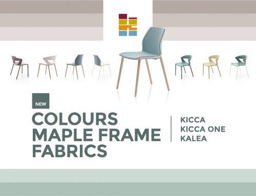 Nuevos colores en la serie Kicca One y Kalea de Kastel