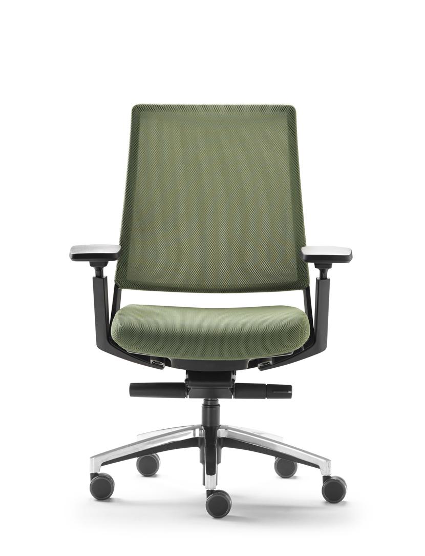 Silla giratoria forma 5 serie kineo muebles de oficina for Muebles de oficina forma 5