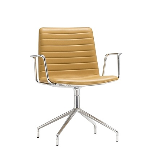 Andrew Flex Chair Chrome front