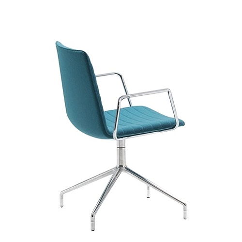 Andrew Flex Chair Chrome rear