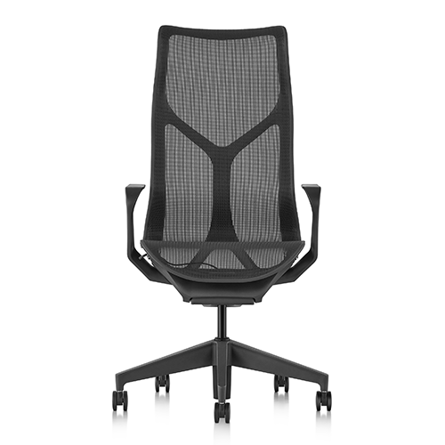 Herman Miller Cosm Black high back front